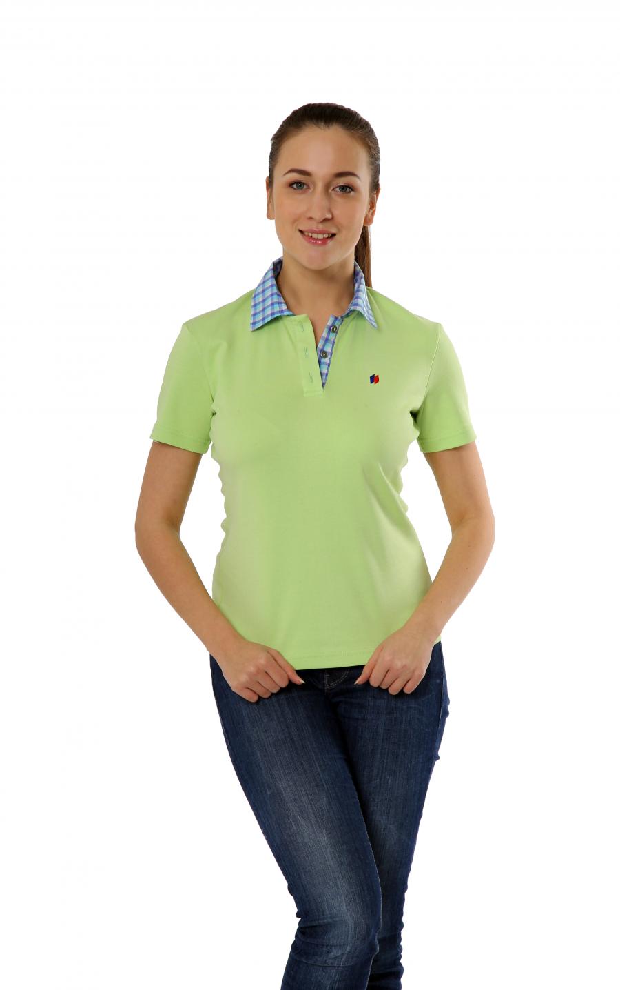 Рубашка-поло KANO Lux W цвет: минт купить оптом,