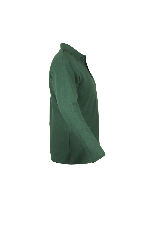 Рубашка-поло KANO Longsleave M зеленая купить оптом,