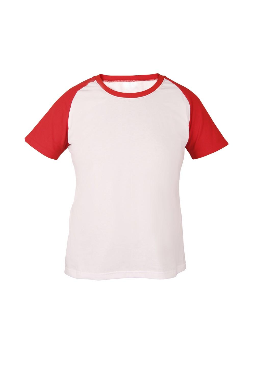 Футболка KANO Reglan 145 M цвет: красный/белый купить оптом,