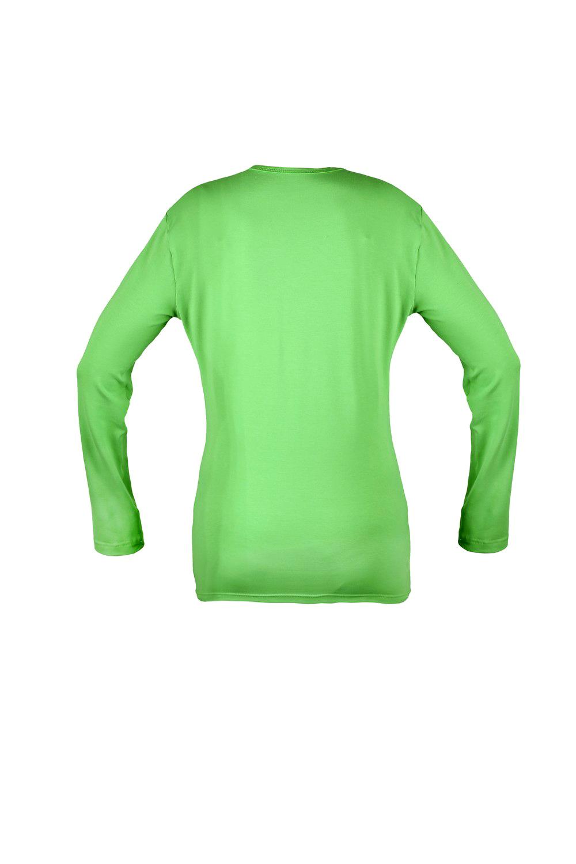 Футболка KANO Long W цвет: зеленое яблоко купить оптом,