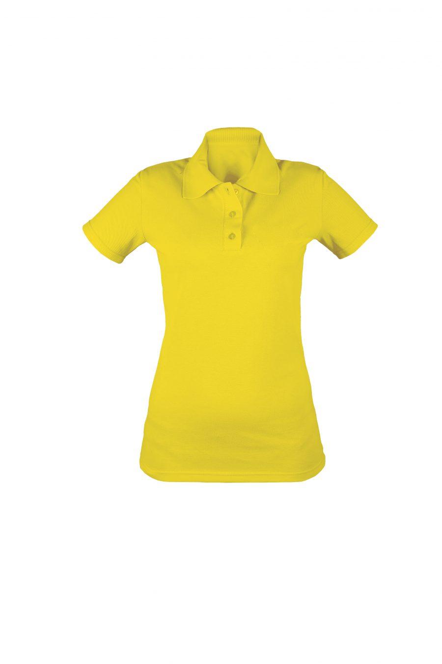 Рубашка-поло KANO WP желтая купить оптом,