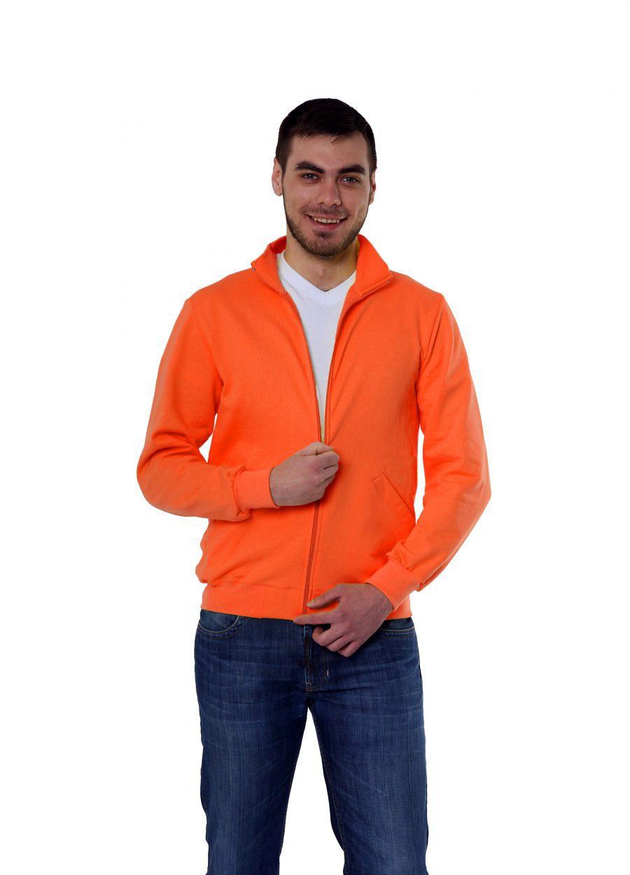 Толстовка  KANO Grand 320 M оранжевая купить оптом,