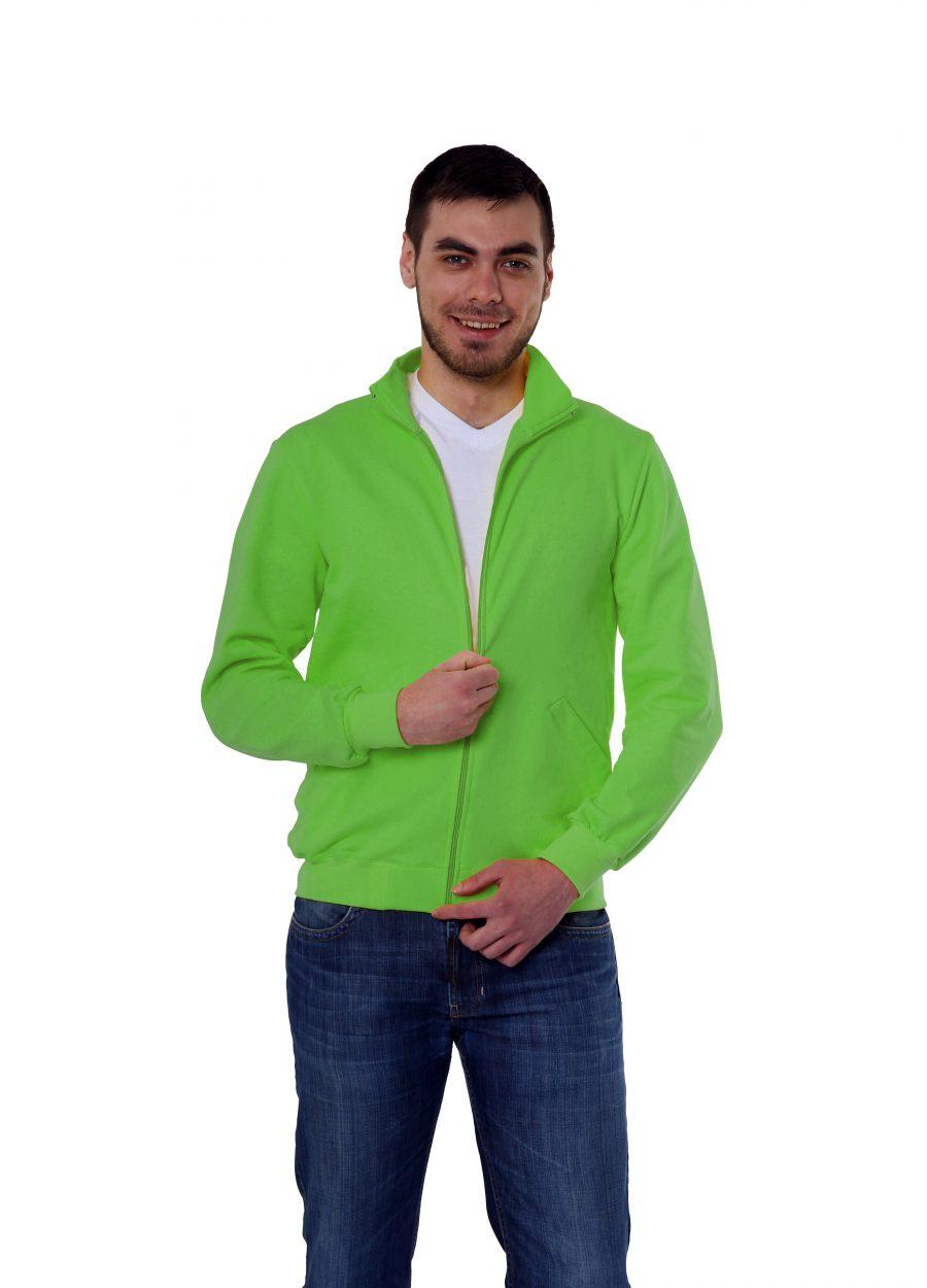 Толстовка  KANO Grand 320 M цвет: зеленое яблоко купить оптом,
