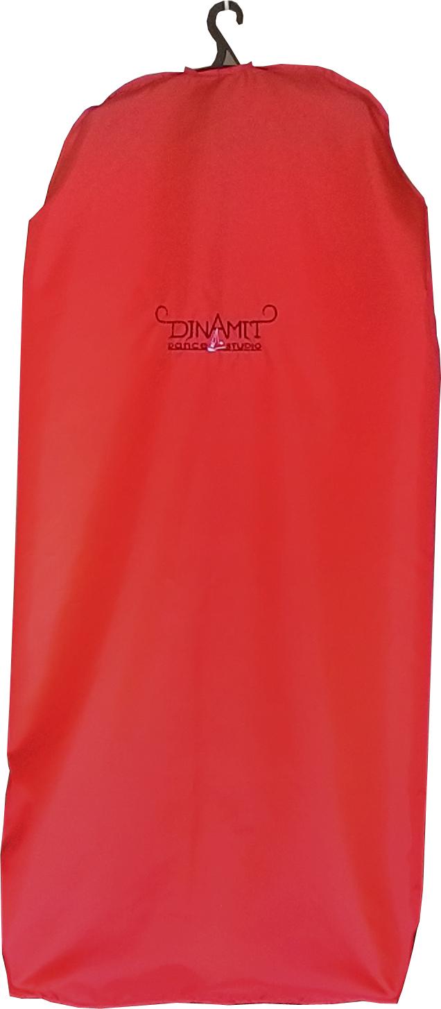 Чехол для одежды 110 см красный купить оптом,