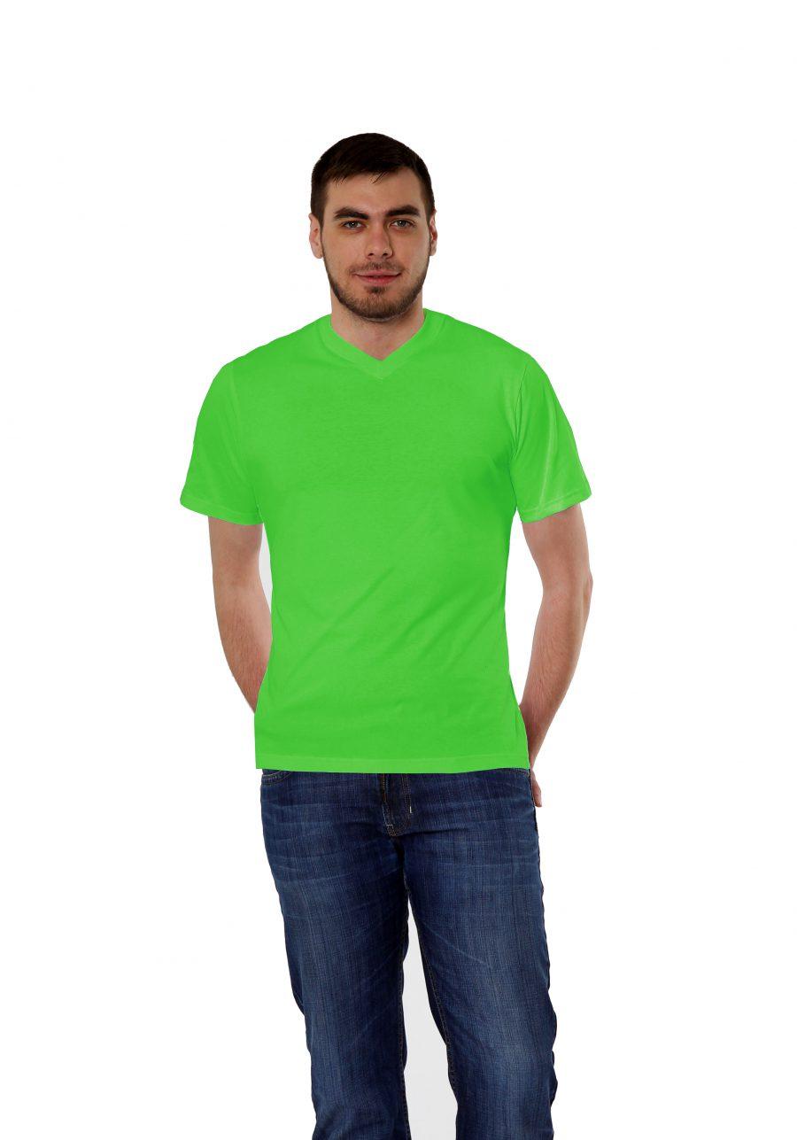 Футболка KANO Win 145 M цвет: зеленое яблоко купить оптом,