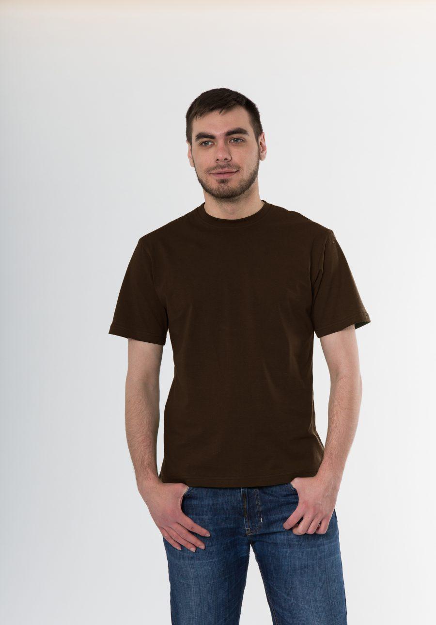 Футболка KANO Classic 145 M коричневая купить оптом,