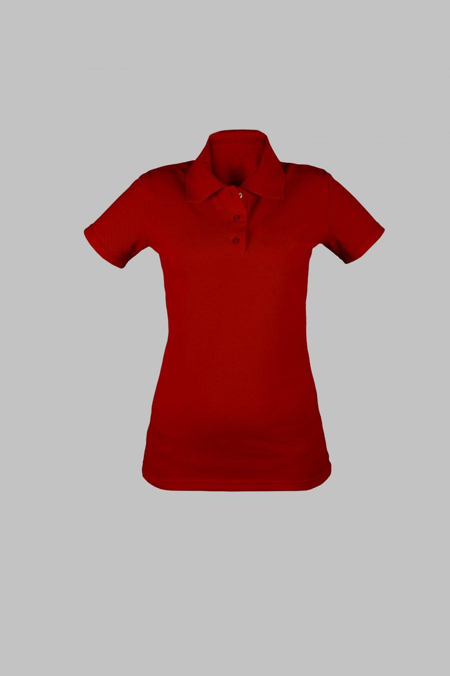 Рубашка-поло KANO WP красная купить оптом,