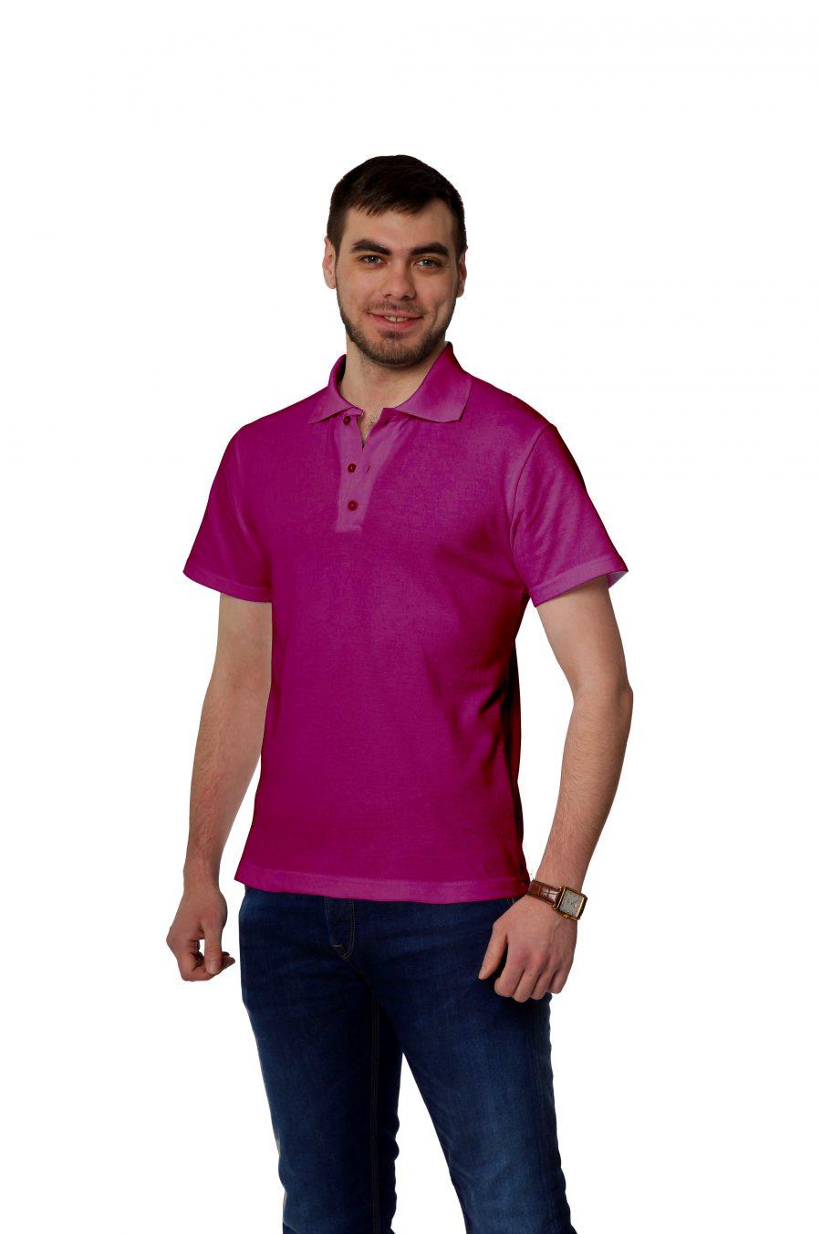 Рубашка-поло KANO MP цвет: фуксия купить оптом,