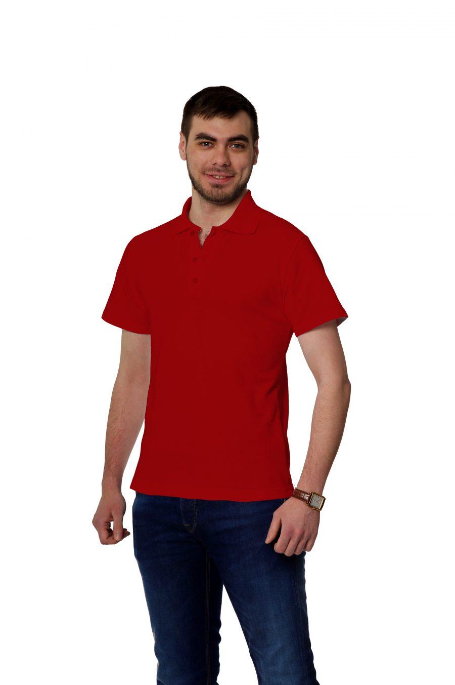 Рубашка-поло KANO MP красная купить оптом,