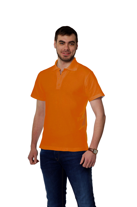 Рубашка-поло KANO MP оранжевая купить оптом,