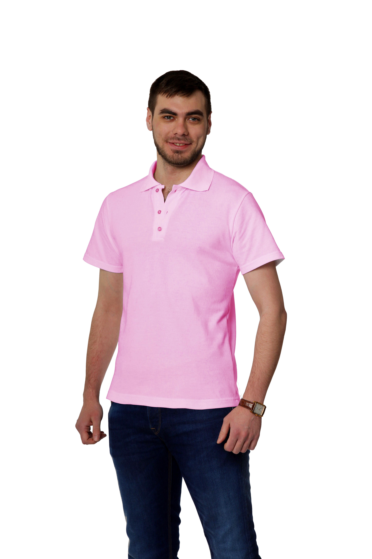 Рубашка-поло KANO MP розовая купить оптом,