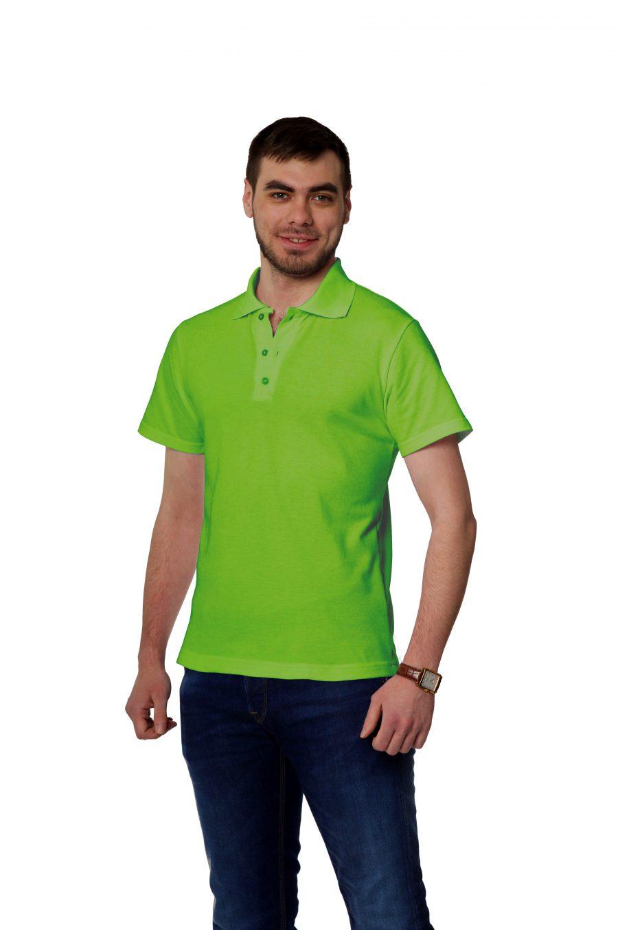 Рубашка-поло KANO MP цвет: зеленое яблоко купить оптом,