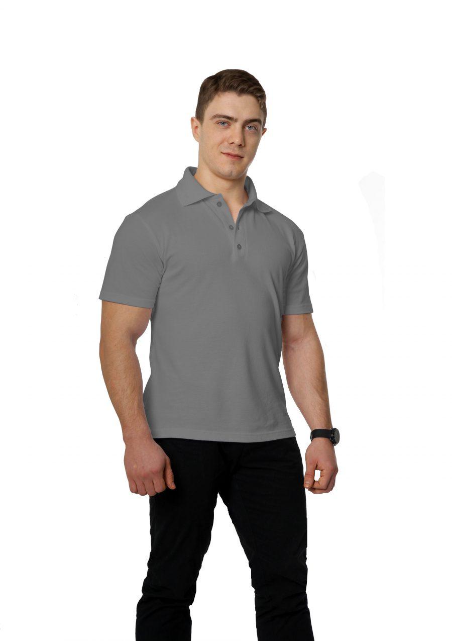 Рубашка-поло KANO M светло-серая купить оптом,
