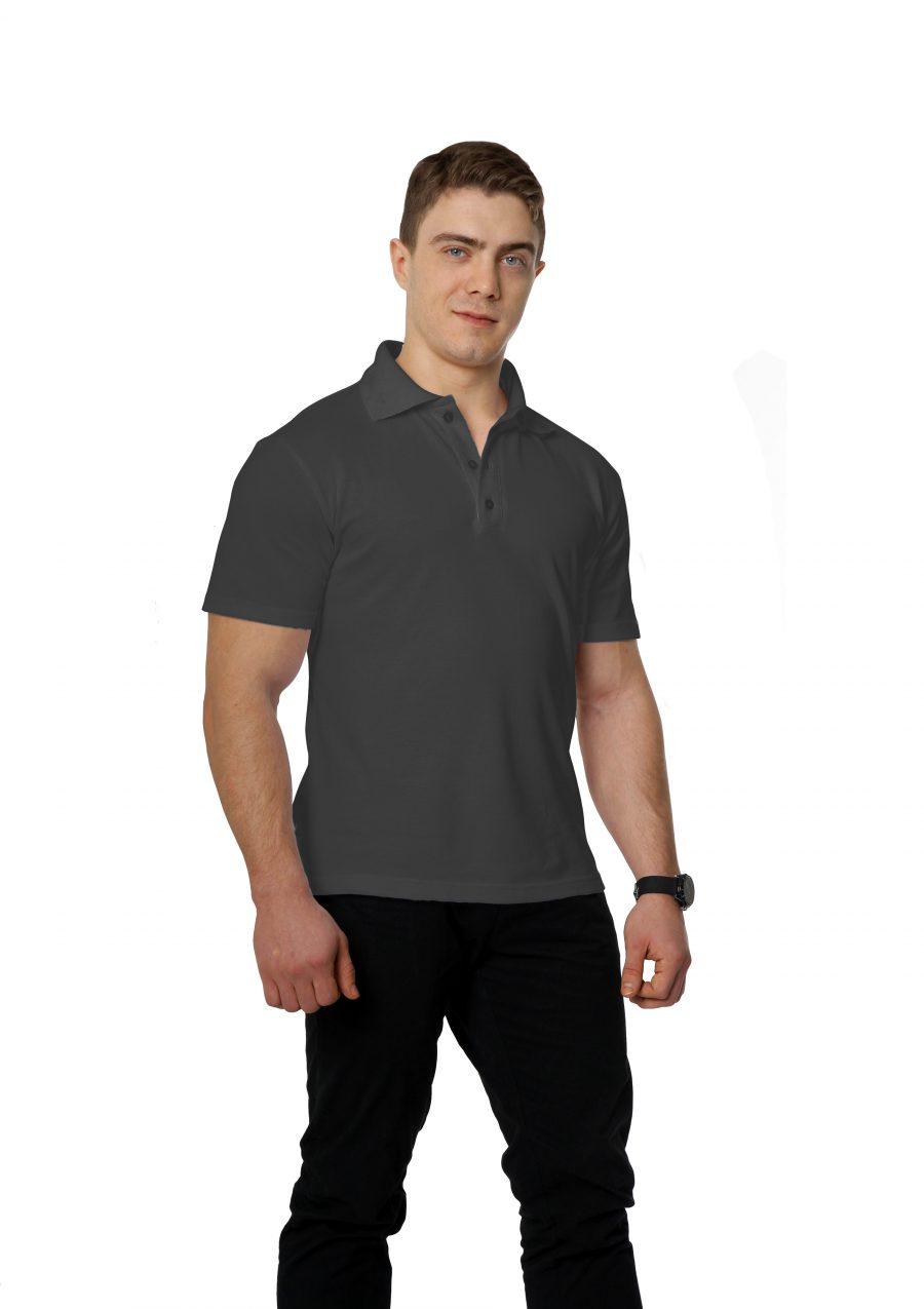 Рубашка-поло KANO M темно-серая купить оптом,