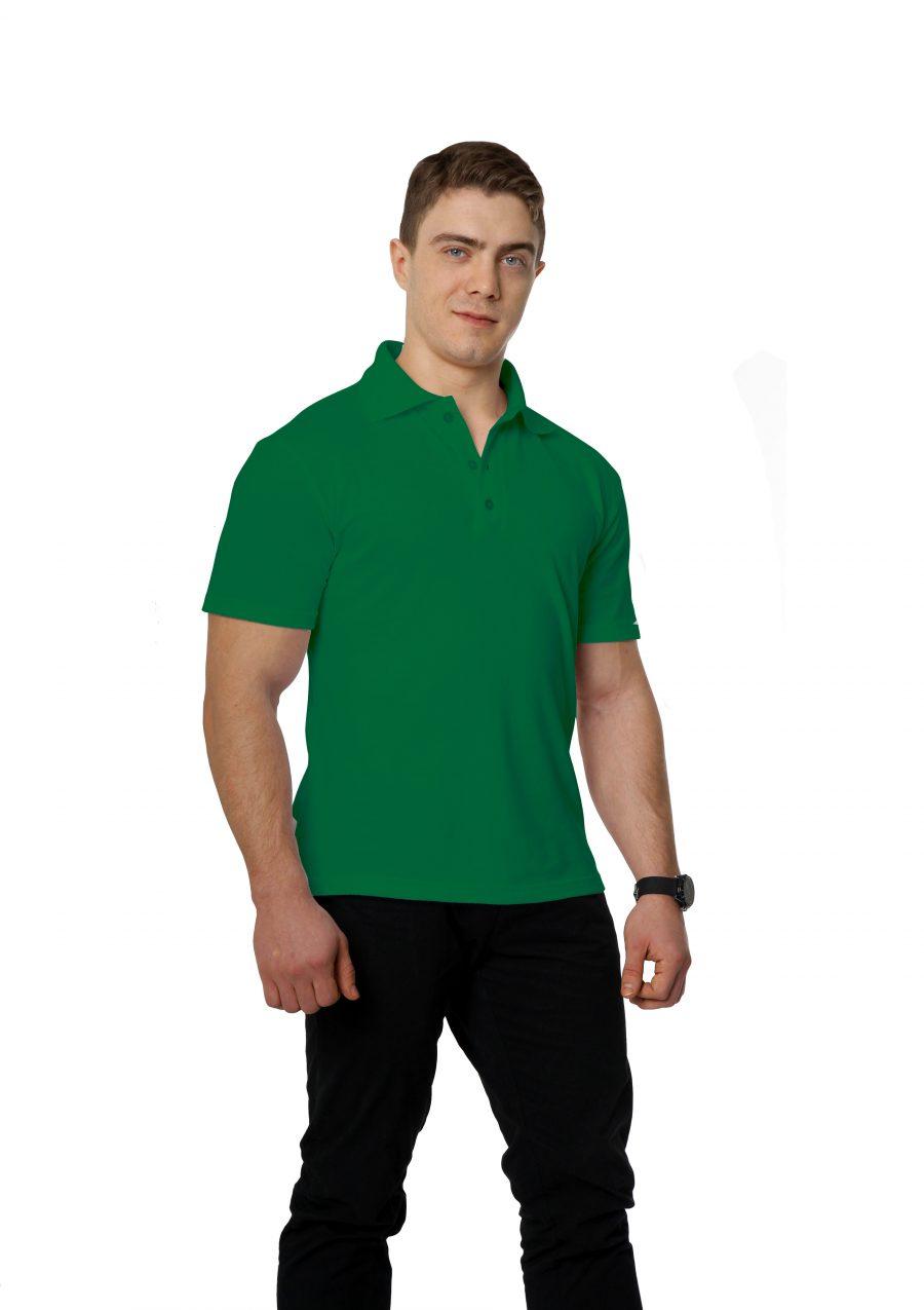 Рубашка-поло KANO M зеленая купить оптом,