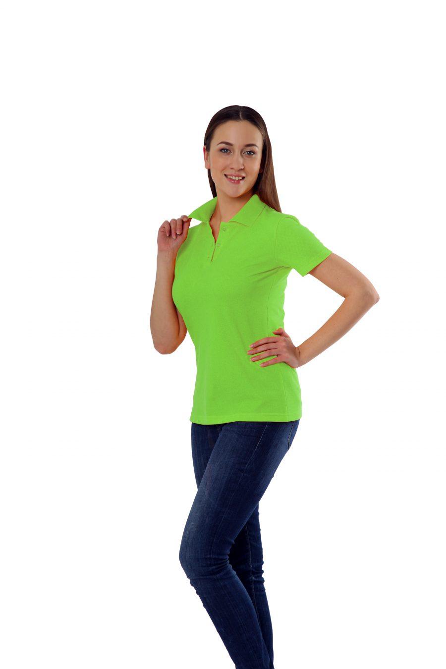 Рубашка-поло KANO WP цвет: зеленое яблоко купить оптом,