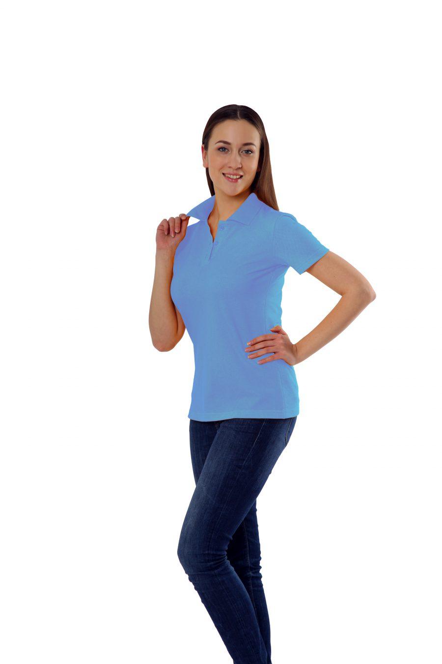 Рубашка-поло KANO WP голубая купить оптом,