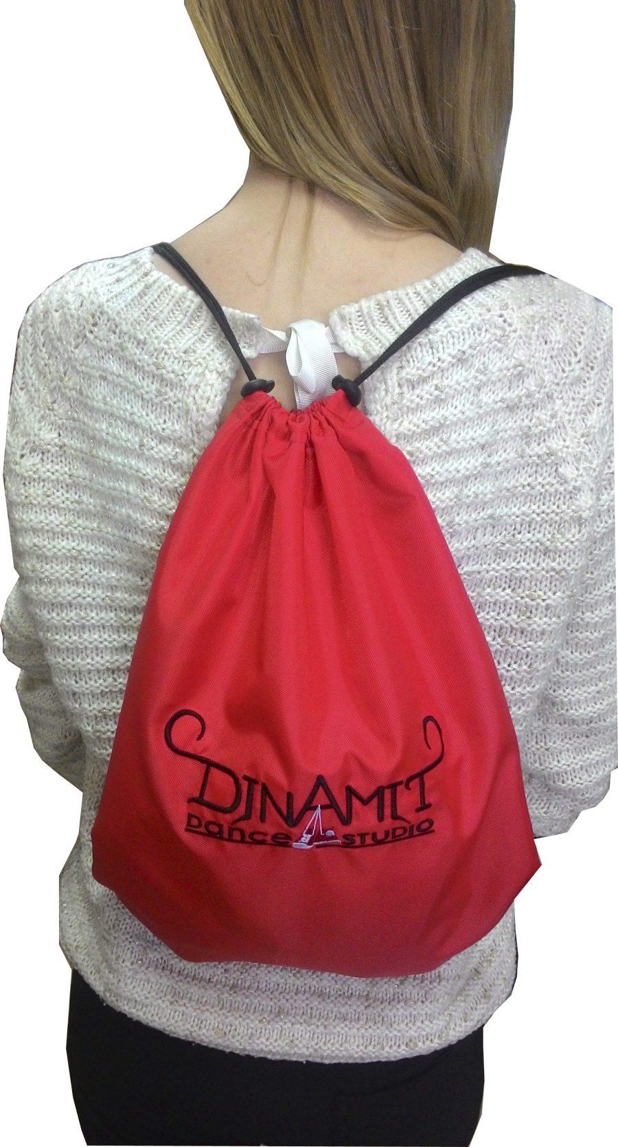 Рюкзак/мешок для обуви красный купить оптом,