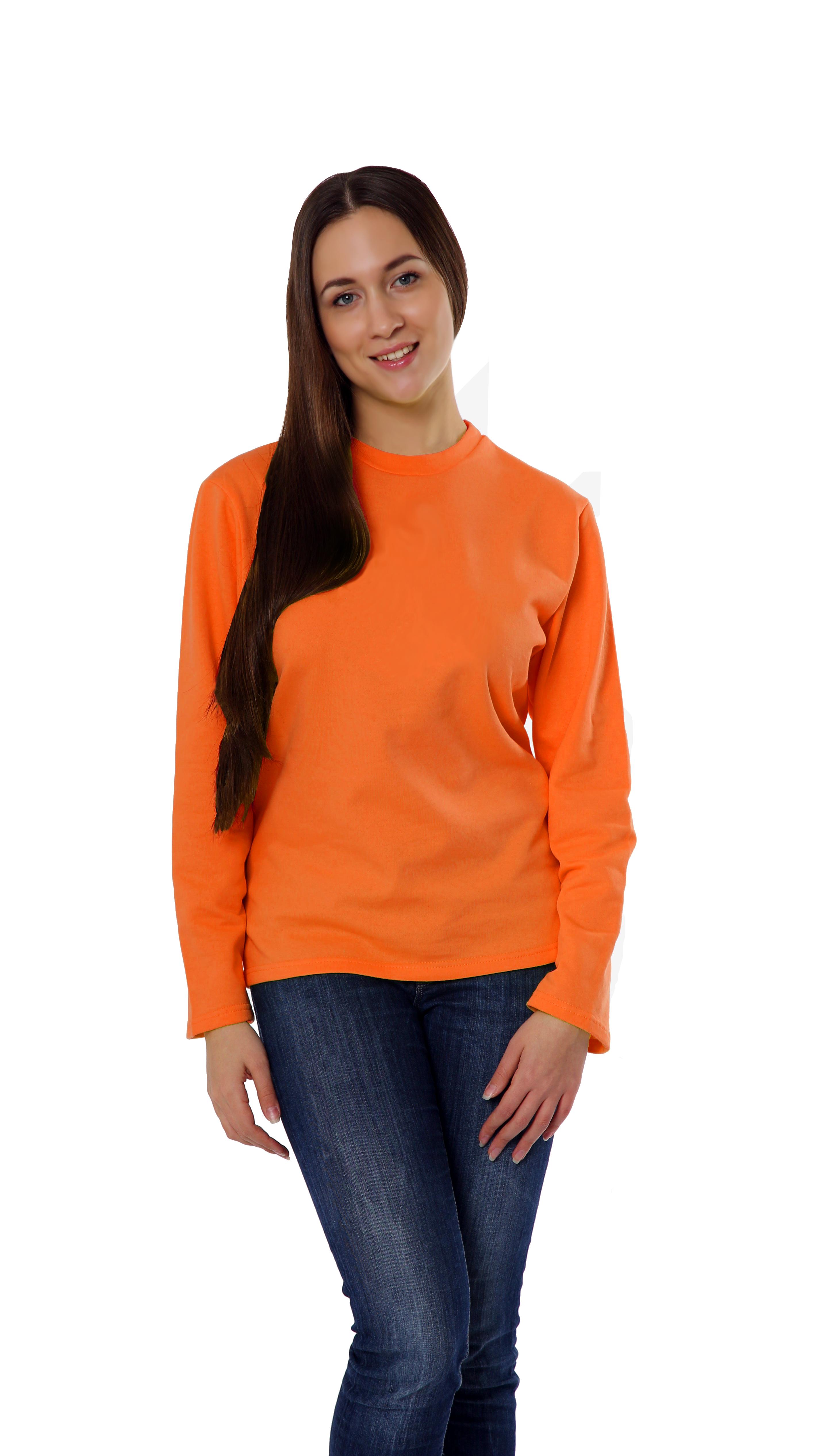 Свитшот  KANO Comfort 260 W оранжевый купить оптом,