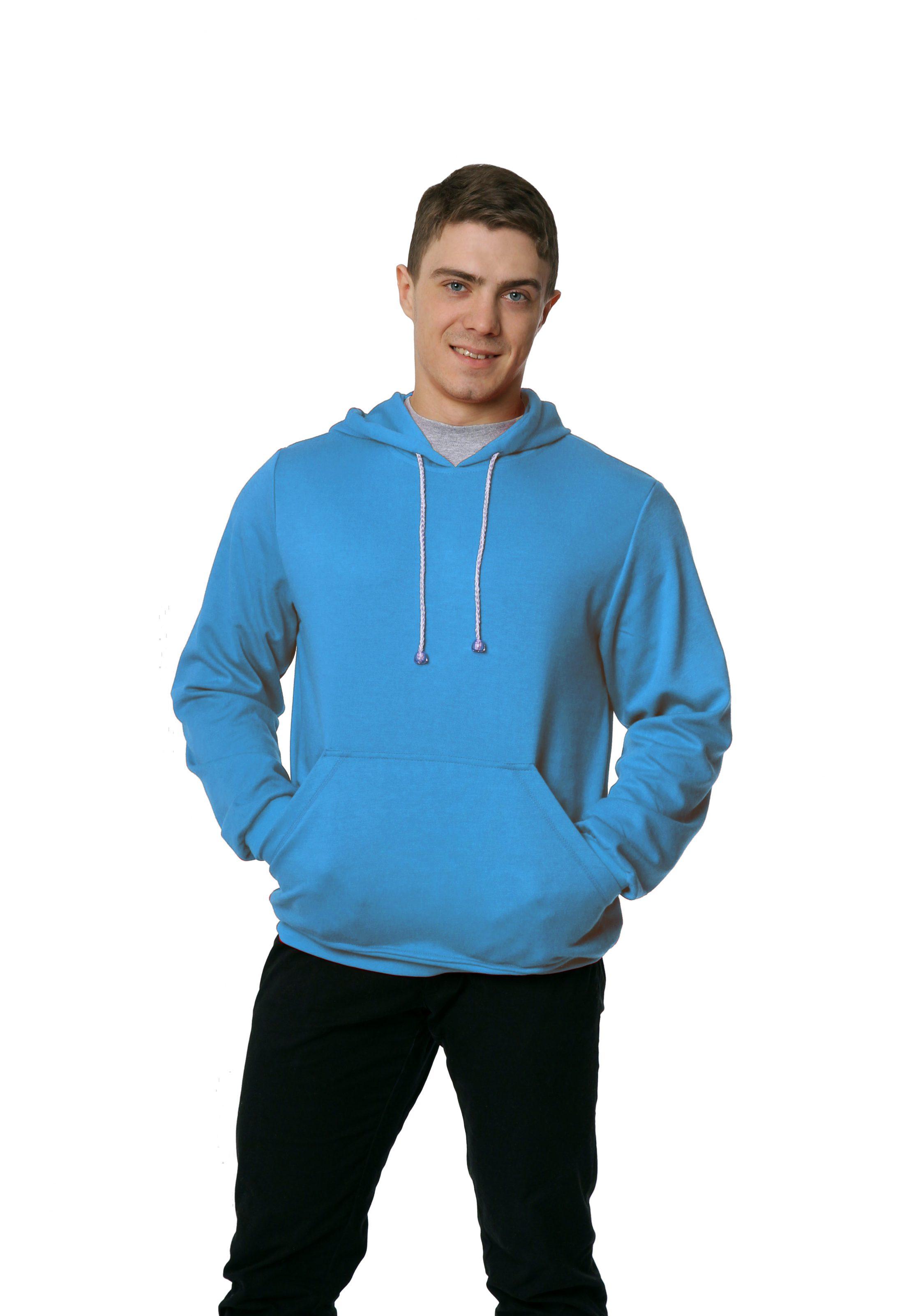 Толстовка KANO Style 320 M голубая купить оптом,